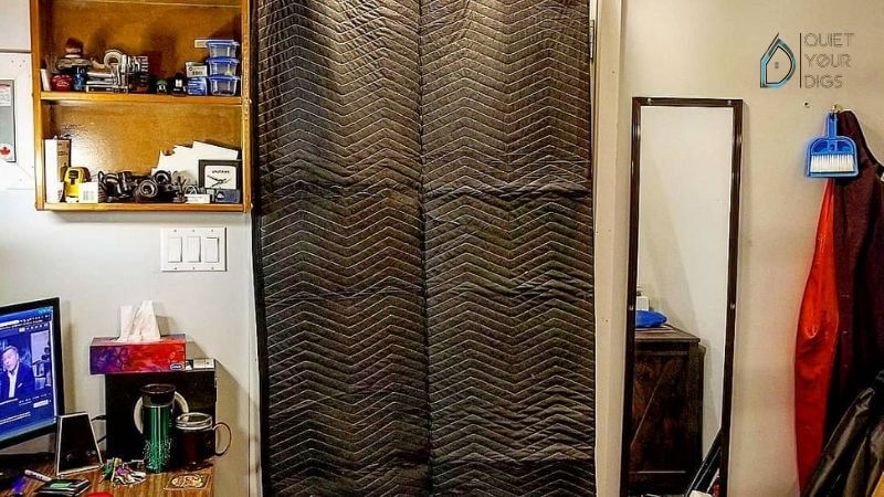 How To Soundproof A Room With Moving Blankets