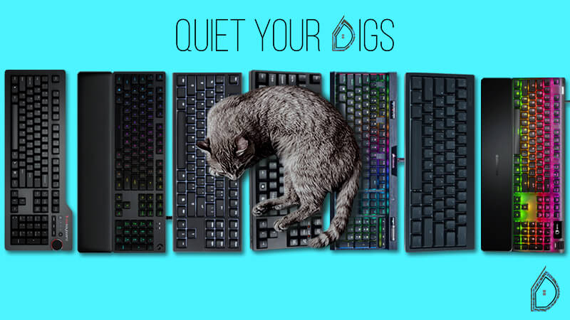 Best Silent Mechanical Keyboard 2019 7 Quietest Options For Work & Gaming